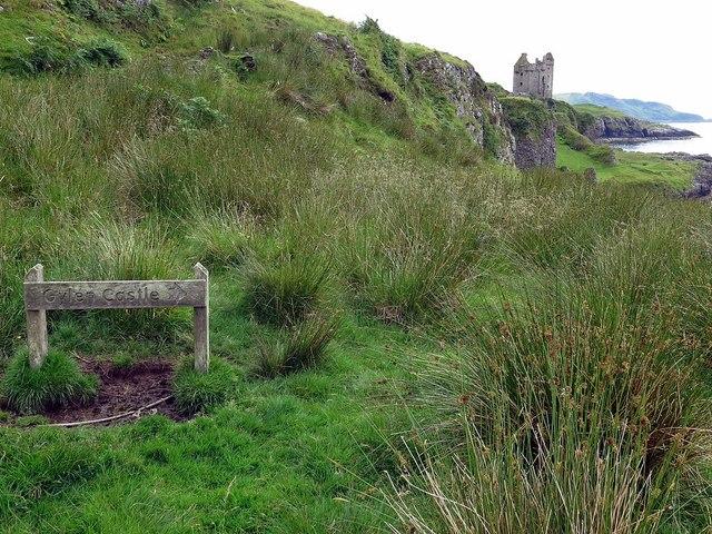 Path to Gylen Castle, Kerrera