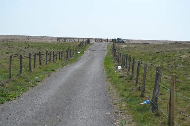 Approaching the end of the byway