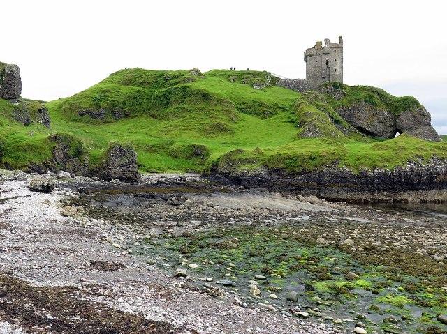 Port a' Chaisteil below Gylen Castle, Kerrera
