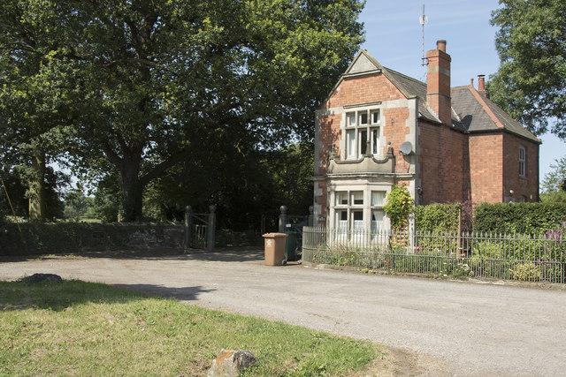 Eggington Hall gatehouse