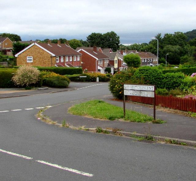 Corner of Laurel Crescent and Larch Grove, Malpas, Newport