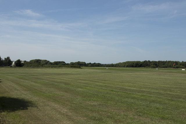 Grass runways