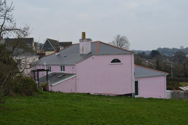 Pink house, Eggbuckland