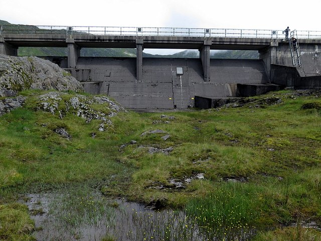 West part of Cruachan Dam
