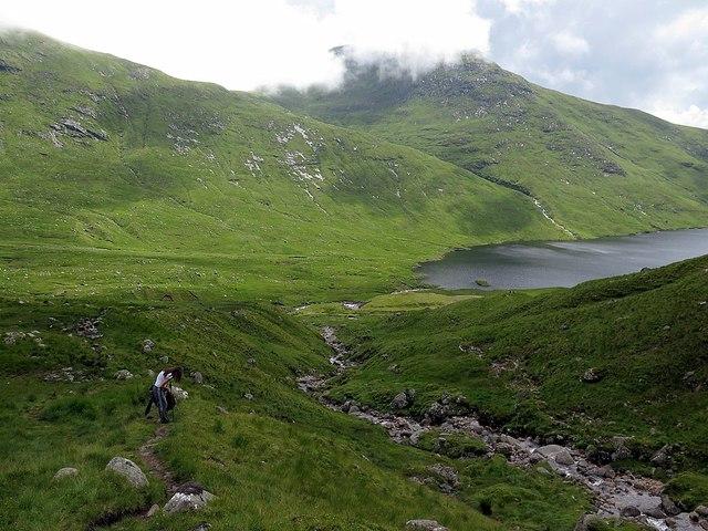 Path above Coire Cruachan