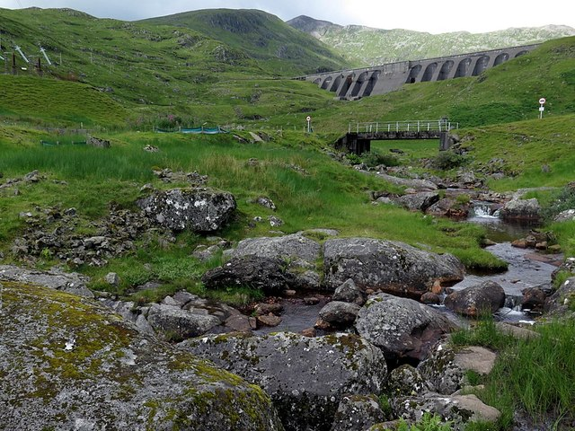 Cruachan Dam from below