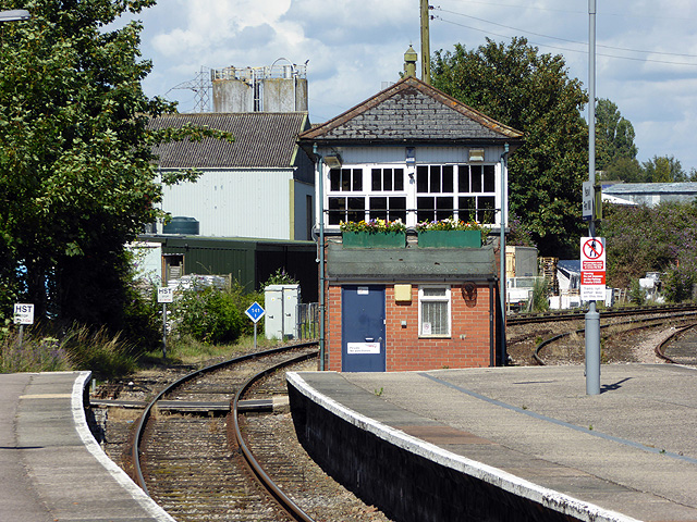 Yeovil Pen Mill Station