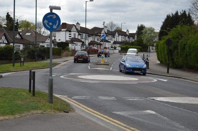 Roundabout, B454