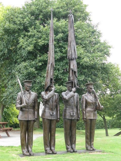 The Honor Guard Sculpture at Duxford