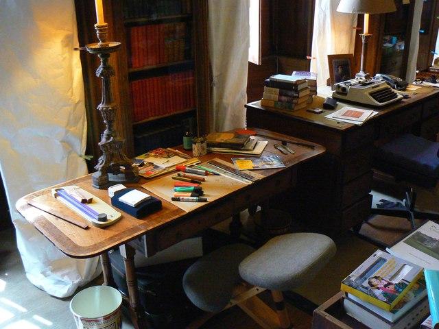 Library, Plas Newydd (3)