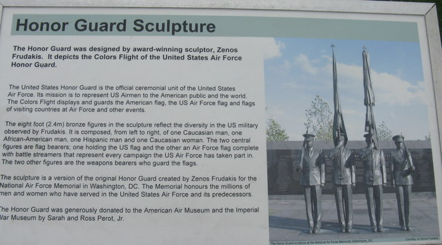The Honor Guard Sculpture - history