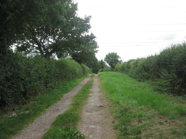 Footpath towards North Laiths