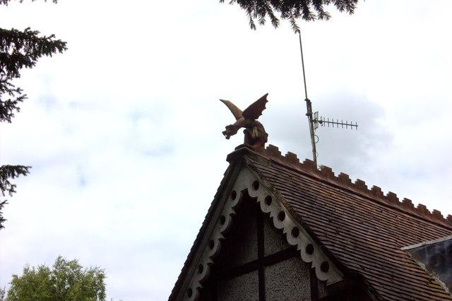 Lodge dragon, Box HIll school