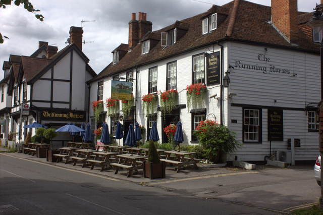 The Running Horses, Mickleham