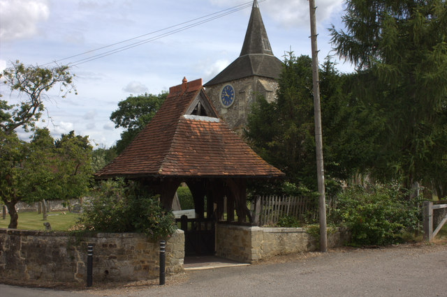 Church gate at Mickleham
