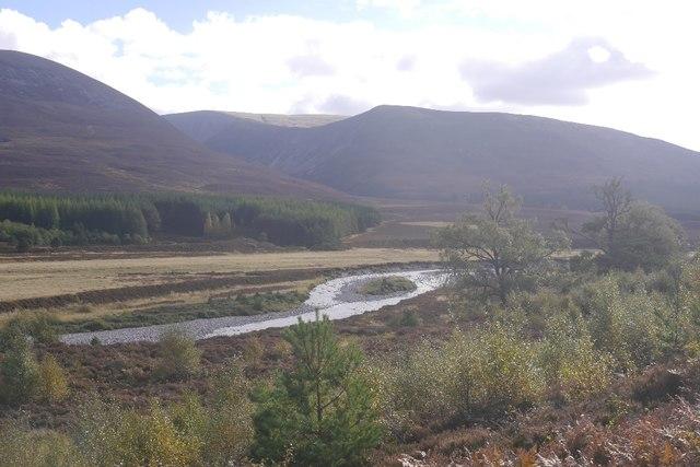 A view up Glen Feshie