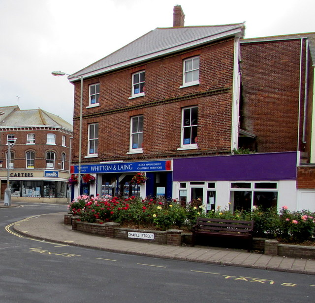 Whitton & Laing office, Exmouth