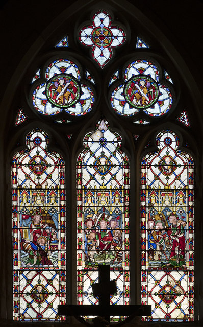 The Annunciation, Brighton - Stained glass window