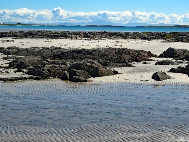 Rocks on Tràigh Mhòr