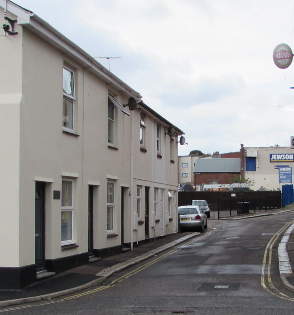 Lower Fore Street houses, Exmouth