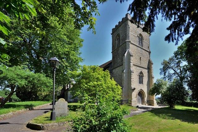 Quainton, Holy Cross and St. Mary c14th Church