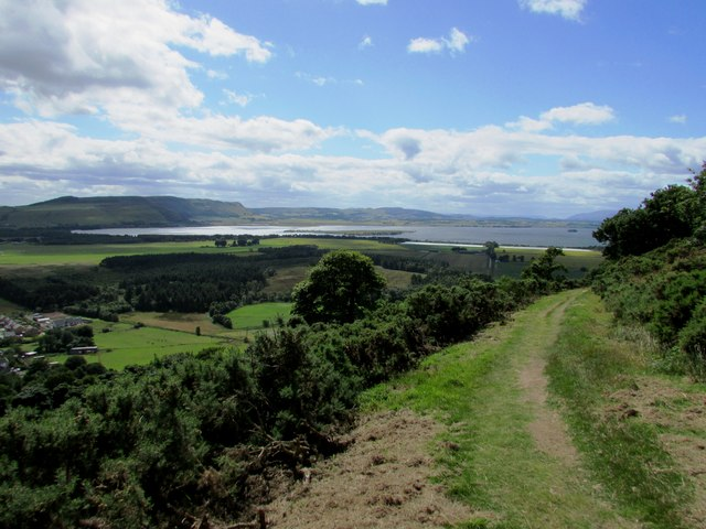 View from path to Bishop Hill, Lomond Hills