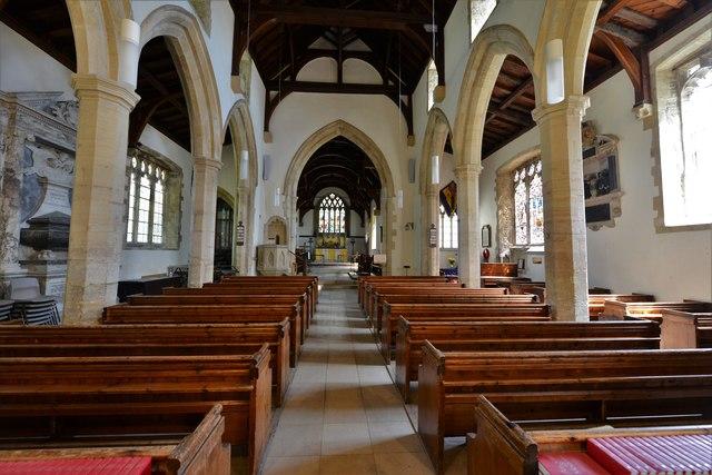 Quainton, Holy Cross and St. Mary Church: The nave