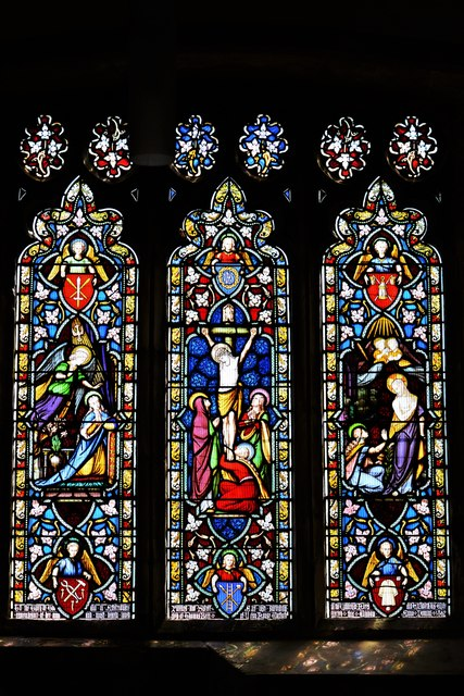 Quainton, Holy Cross and St. Mary Church: Stained glass window