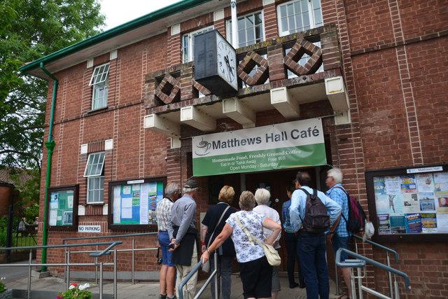 Topsham : Matthew's Hall