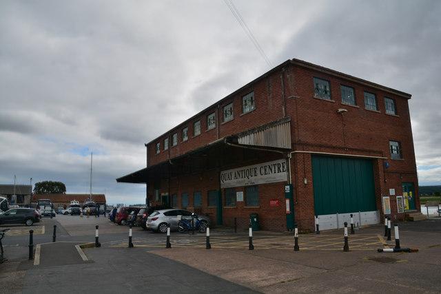 Topsham : Quay Antique Centre