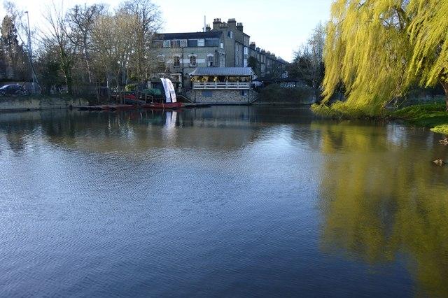 The Granta across Mill Pond