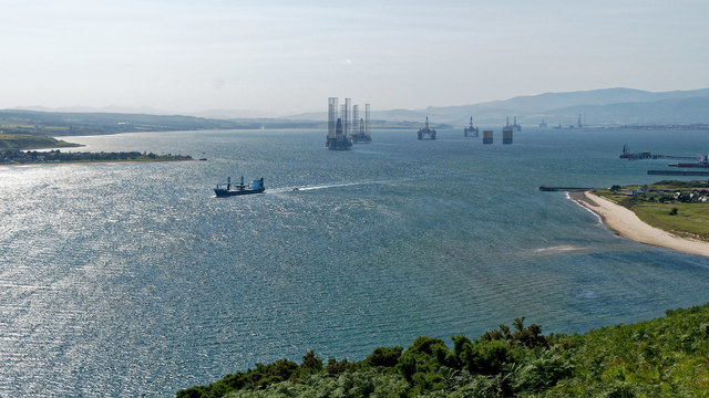 Activity in the Cromarty Firth