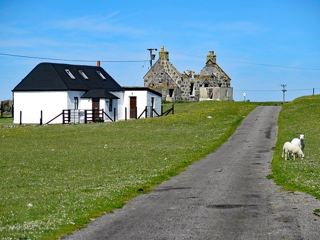 Road at Silversands, Tiree