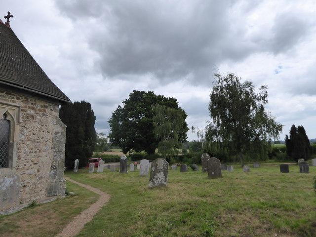 St Oswald, Hooe: churchyard (c)