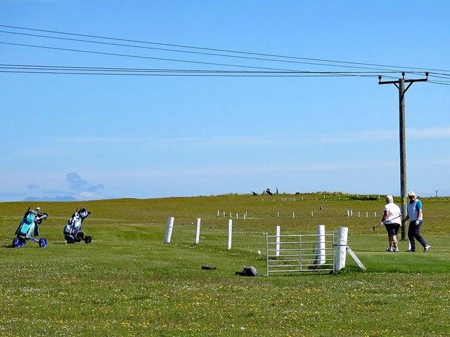 Vaul Golf Course, Tiree