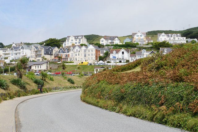 Houses with a sea view at Woolacombe