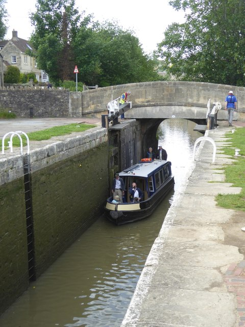 Lock at Bradford-on-Avon