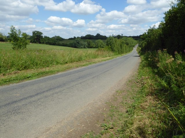 Road to Barton-on-the-Heath