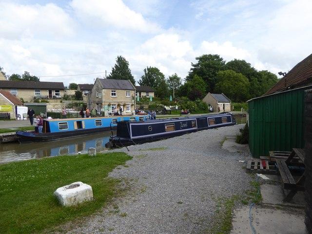 Canal wharf, Bradford-on-Avon