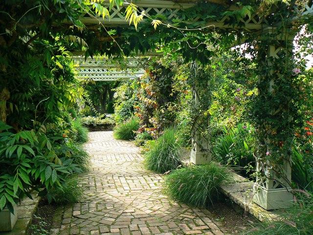 Ornamental walk, Bodnant Gardens
