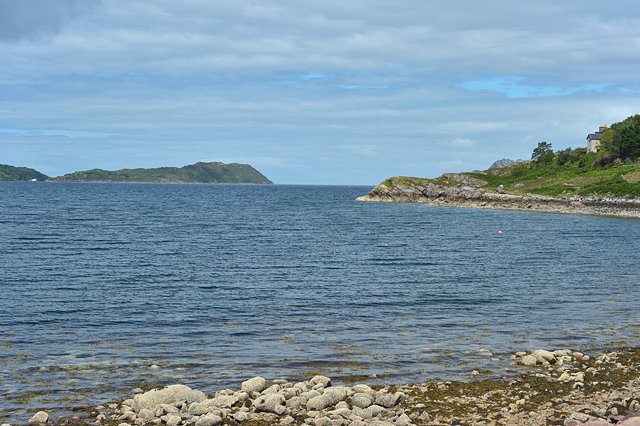 Looking out over Loch Shieldaig