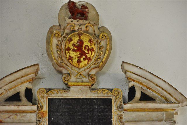 Quainton, Holy Cross and St. Mary Church: Dr. Richard Brett (d.1637) memorial 3