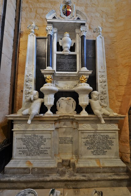 Quainton, Holy Cross and St. Mary Church: Dormer memorial 1