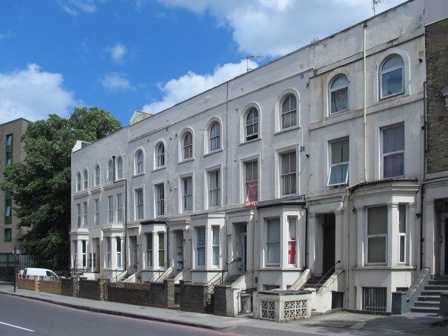 Terrace in Isledon Road, N7