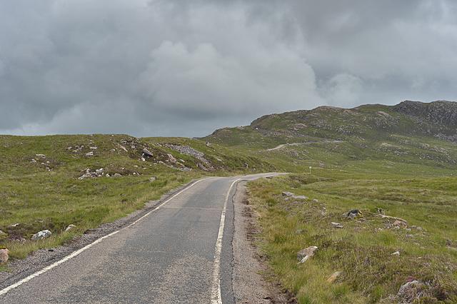 Road to the Bealach na Bà