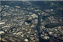 SJ8097 : Salford Quays, Manchester from the air by Thomas Nugent