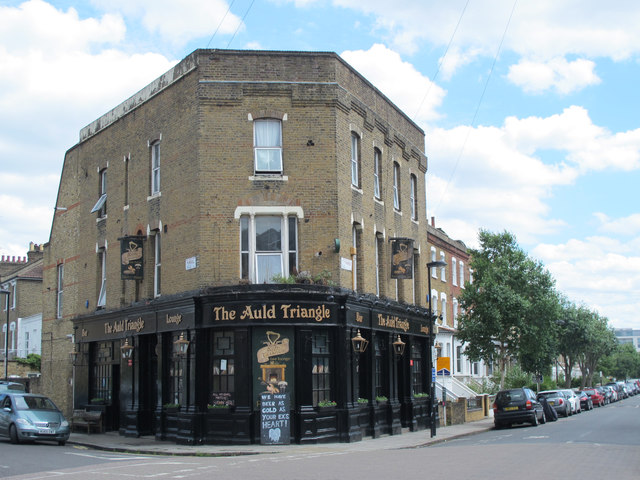 The Auld Triangle, St. Thomas's Road / Plimsoll Road, N4
