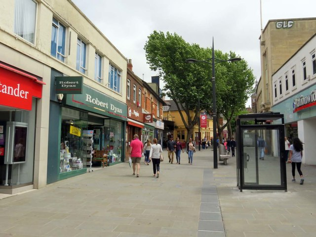 Regent Street in Swindon