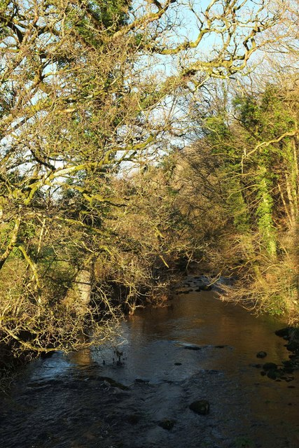De Lank River from Keybridge