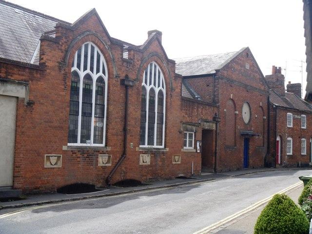 Methodist church and masonic hall